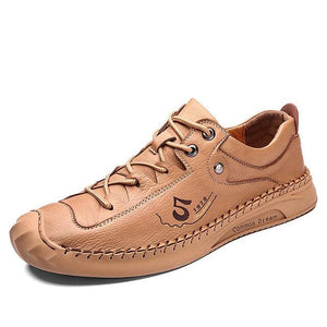Trend Men Leather Fashion Casual Comfortable Men Design Shoes