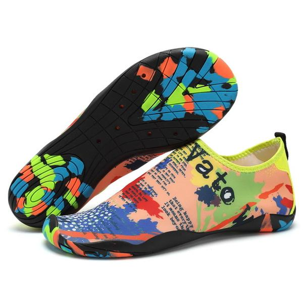 Shoes - Beach Outdoor Swimming Adult Unisex Flat Soft Seaside Water Shoes