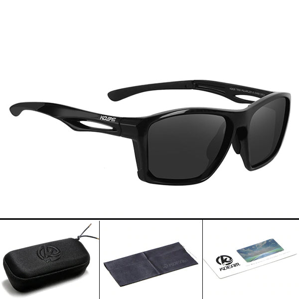 Kaaum Men's Original TR90 Polarized Sunglasses