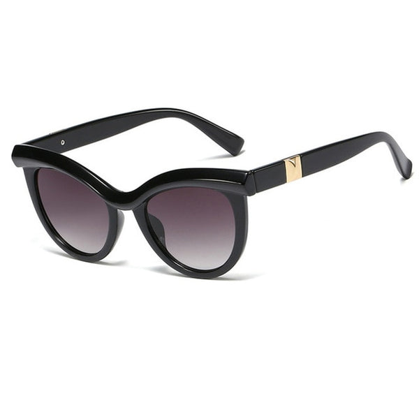 Sunglasses - Women's Chic Fashion Cat Eye Sunglasses