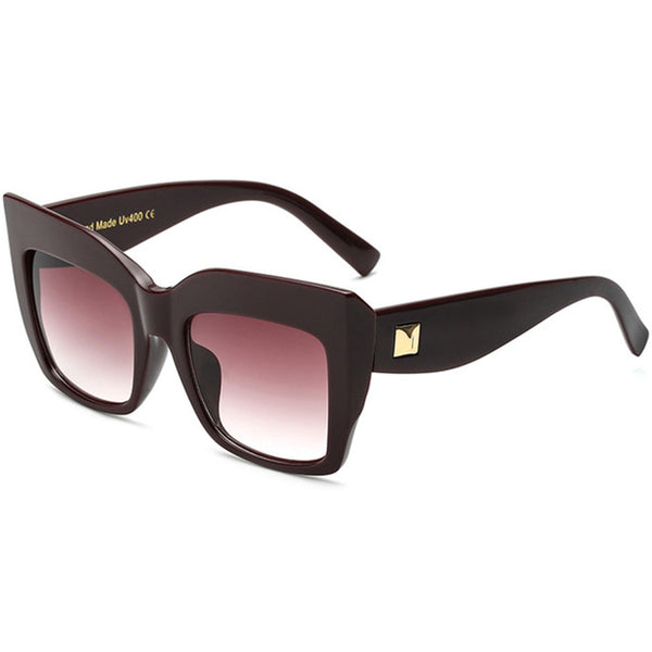 Sunglasses - Oversized Square Ladies Shades