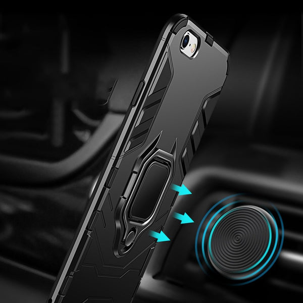 Phone Accessories - Luxury 4 In 1 Shockproof Case For iPhone X/XR/XS/XS Max