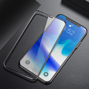 Screen Protector - Luxury 5D Tempered Glass Protective Screen Protector Film For iPhone X/XC/XS/XS Plus