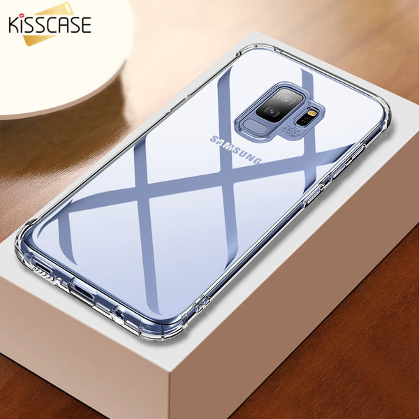Phone Accessories - Soft TPU Clear Case For Samsung Note 9 8 S8 9 S9 Case
