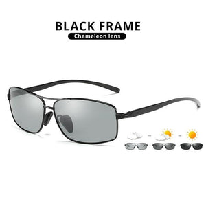 LIOUMO Photochromic Sunglasses Polarized Driving Sunglasses