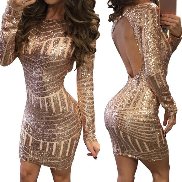 Sparkling Sexy Club Party Dresses