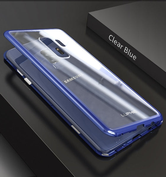 best service 28203 6b093 Phone Accessories - Magnetic Metal Case For Samsung GalaxyS9 S8 Plus Note 8  9
