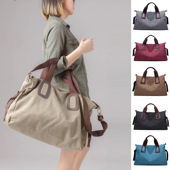 Large Pocket Casual Women's Handbag