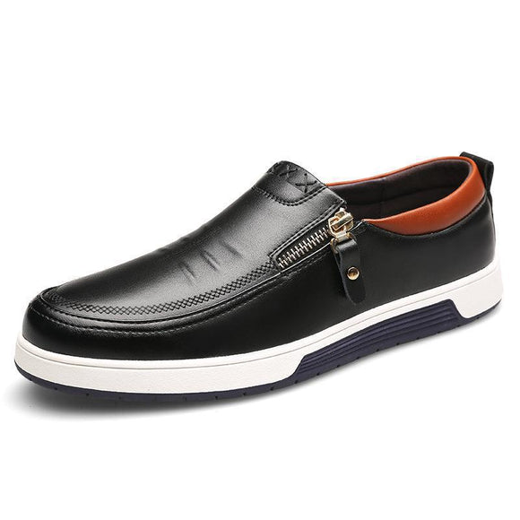 Large Size Pu Leather Men Casual Shoe