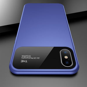 Phone Case - Luxury Fashion Matte Solid Color Soft TPU Shockproof Phone Case For iPhone XS/XR/XS Max 8/7 Plus