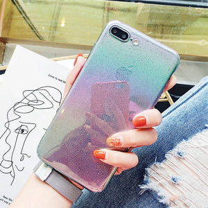 Phone Case - 360° Clear PC Bumper Cute Bling Cases for iPhone X Xs Max XR