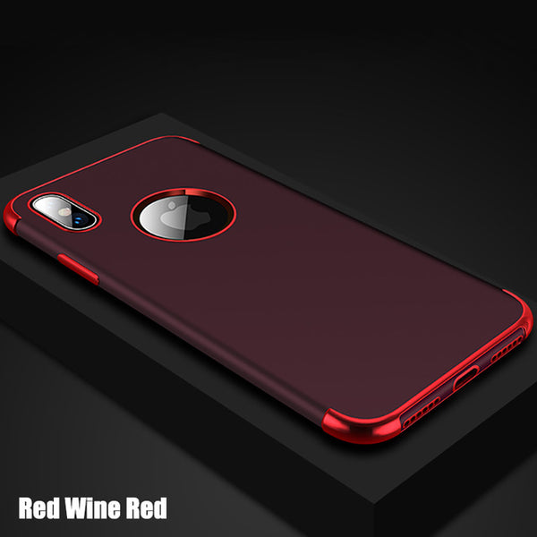 Luxury Business Shockproof Case For iPhone