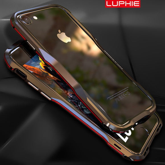 Phone Accessories - Luxury 3D Irregular Metal Bumper For iPhone
