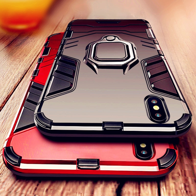 Super Anti Knock Armor TPU Case For iPhone 7 Cover iPhone 8 Plus