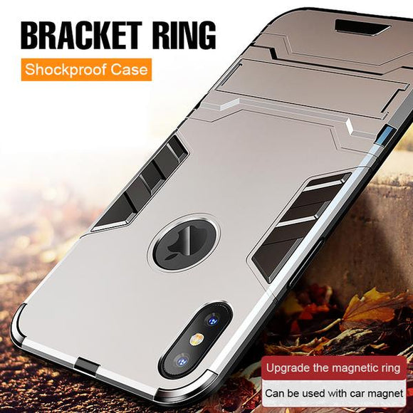 New Heavy Duty Anti-knock Hard Shockproof Phone Case For iPhone X/XS/XSMax