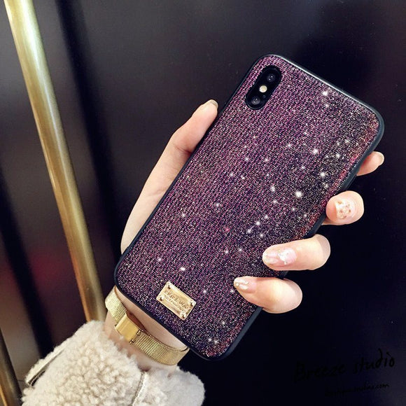 Phone Case - Luxury 3D Glitter Diamond Bling Protective Phone Case For iPhone XS/XR/XS Max 8/7 Plus