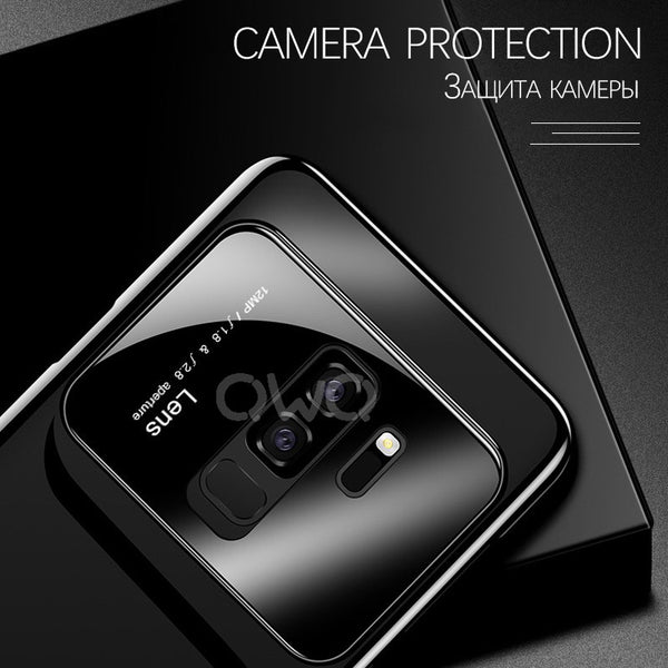 Phone Case - Luxury Camera Protection Phone Cases For Samsung Galaxy