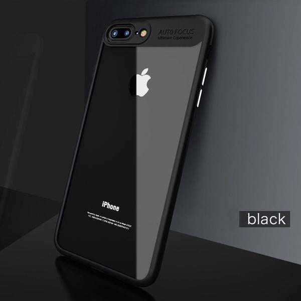 Phone Case - Luxury Ultra Thin Capinhas PC & TPU Silicone Phone Case For iPhone 8/7 Plus