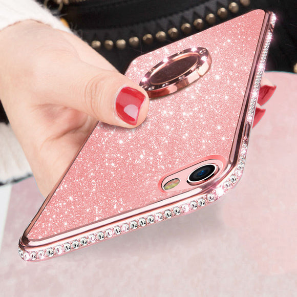 Luxury Glitter Ultra Thin Phone Case For iPhone