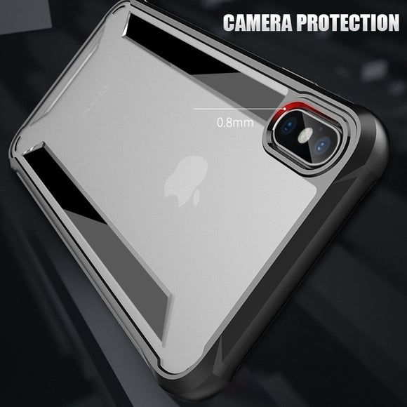 Luxury Hybrid Armor Shockproof Phone Case For iphone XS XR Max