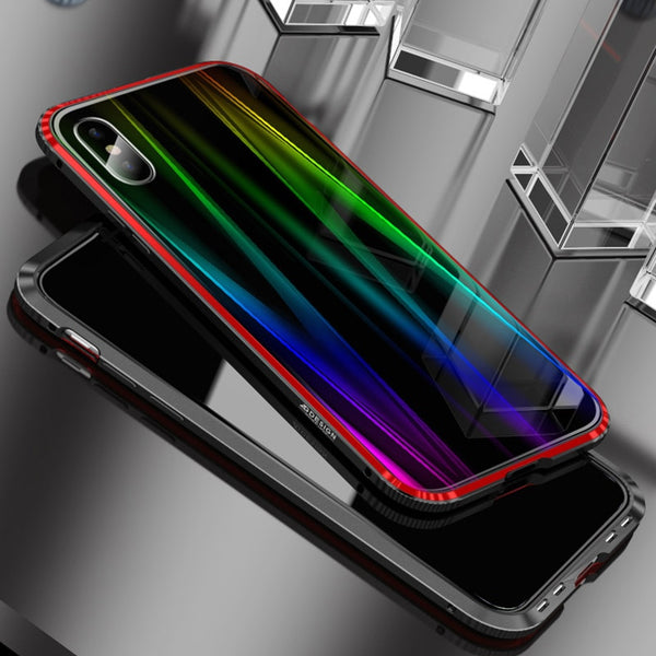 Phone Accessories - Luxury Laser Aurora Colorful Case For iPhone