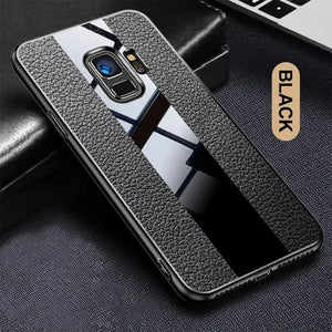 Luxury Leather Bumper Case For Samsung S9 S8 Note 8