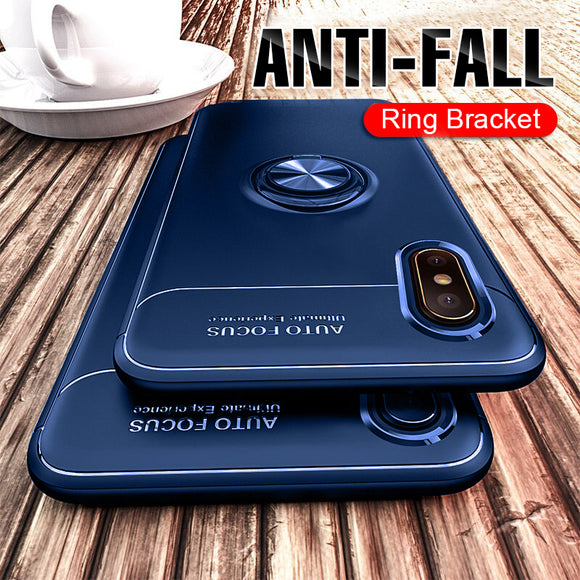 Luxury Magnetic Ring Case For iPhone X/XR/XS Max