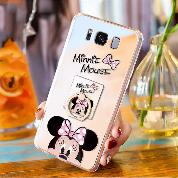 Phone Case - Ultra Thin Clear Mirror Cute Case For Samsung Galaxy S9 S8 Note8