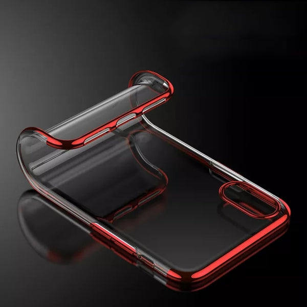 Phone Case - Luxury Plating Shining Transparent Clear Soft TPU Phone Case For iPhone X/XS/XR/XS Max(Buy 2 Get 10% off, 3 Get 15% off)
