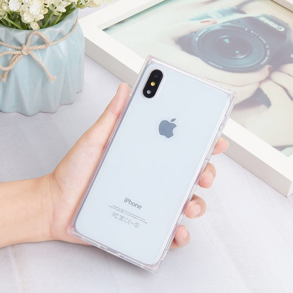 Phone Case - Ultra Thin Anti-knock Transparent Full Case for iPhone X 10 8 Plus