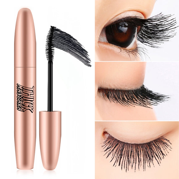 Long And Thick Waterproof Curling Mascara