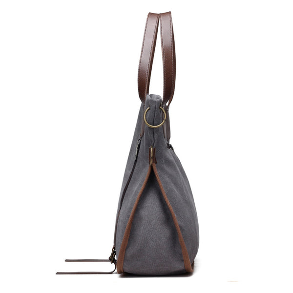 Bag - Fashion Multifunctional Women Canvas Bag (Buy one Get 5% OFF, 2 Get 10% OFF, 3 Get 20% OFF)