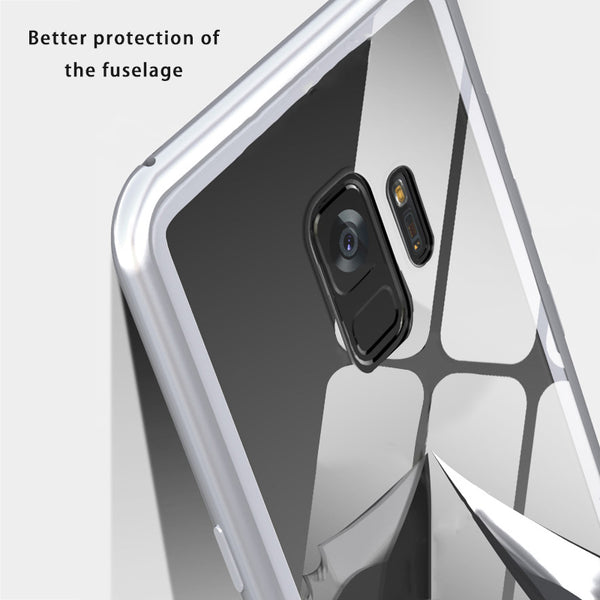 Phone Accessories - Luxury Ultra Magnet Tempered Glass 360 Full Cover For S9 S9Plus