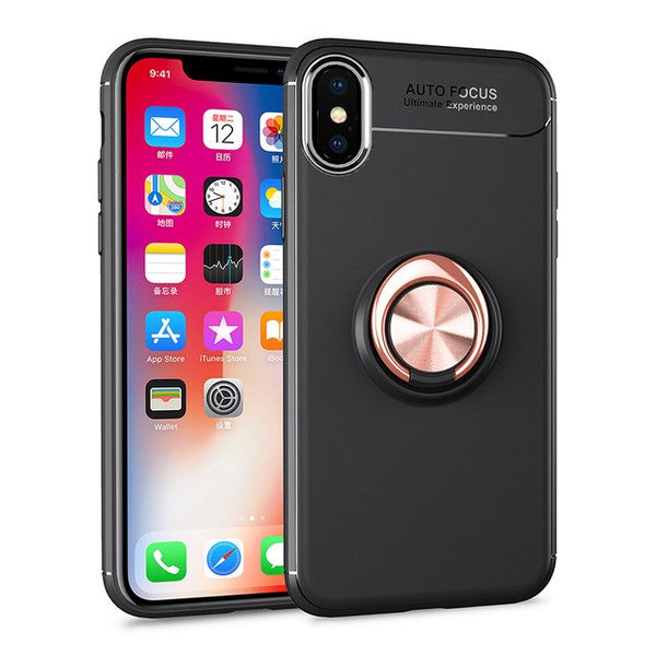Armor Hybrid Car Magnetic Suction Bracket Case for iphone X XS XR XS MAX