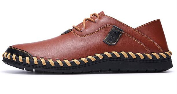 New Arrival Men Soft Genuine Leather Casual Shoes