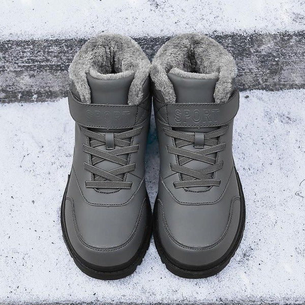 Shoes- Men's Winter Warm Boots With Fur