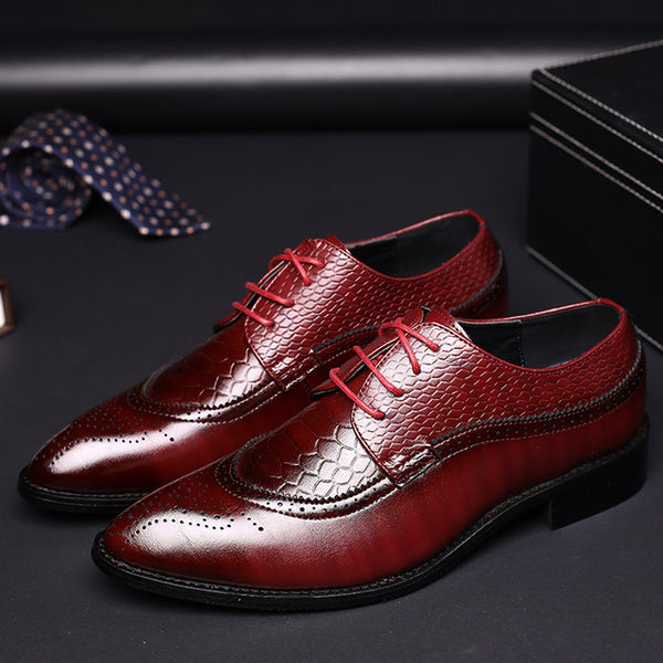 Shoes - 2019 Men Business Leather Formal Shoes