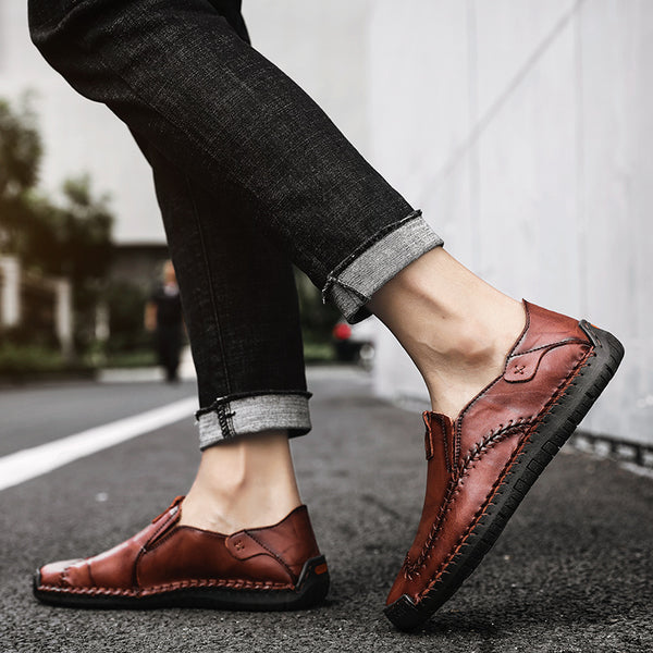 64e4f2ad6fab Men s Shoes - 2019 Fashion Big Size Slip on Flats Loafers Moccasins ...