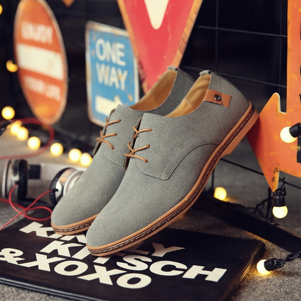 Shoes - Spring Autumn Mens Suede Shoes