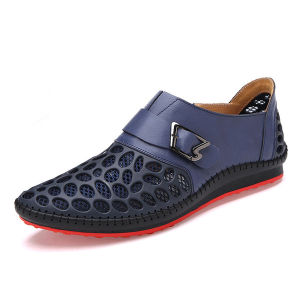 3544641a9fdbc9 Shoes - Summer Design Men Genuine Leather Slip On Driving Oxford Shoes
