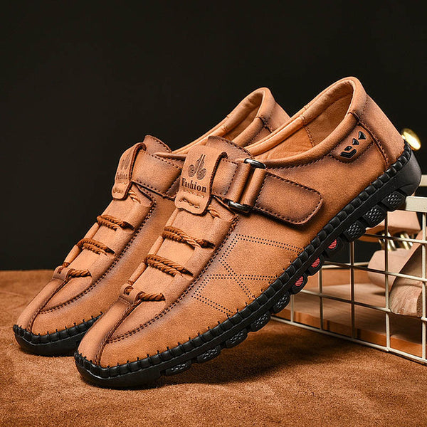 new high quality 100% genuine superior quality Shoes - Hot Sale Men's Comfortable Fashion Leather Loafers