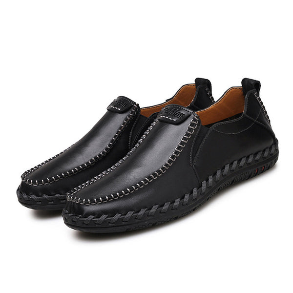 Shoes - High Quality Men Casual Leather Shoes
