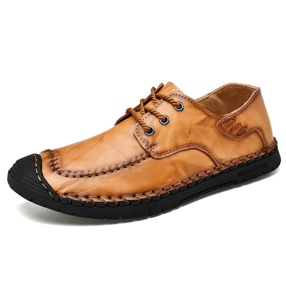Kaaum Genuine Leather Comfortable Soft Shoes