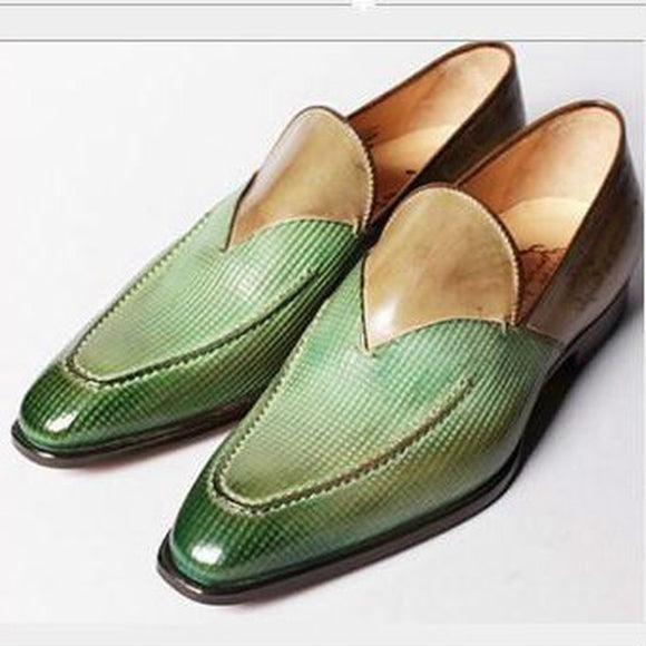 Kaaum Mens Business Driving Vintage Wedding Shoes