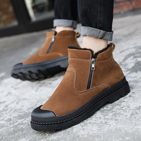 Shoes - Fashion Plush Keep Warm Men Boots