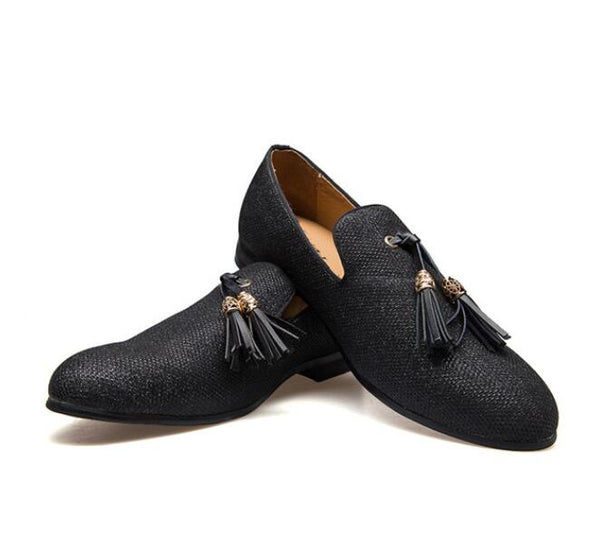 Shoes - Handmade Gentleman Tassel Loafers