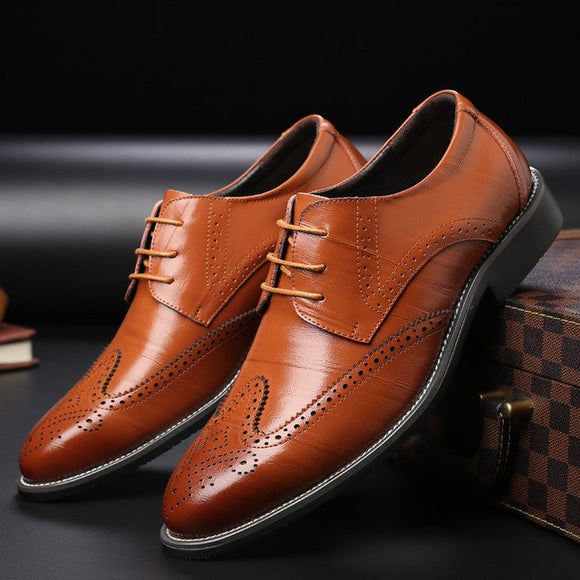 Shoes - Hot Sale Men's Genuine Leather Dress Shoes