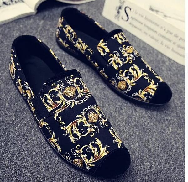Men's Shoes - 2018 Fashion Handmade Soft Breathable Moccasins Shoes