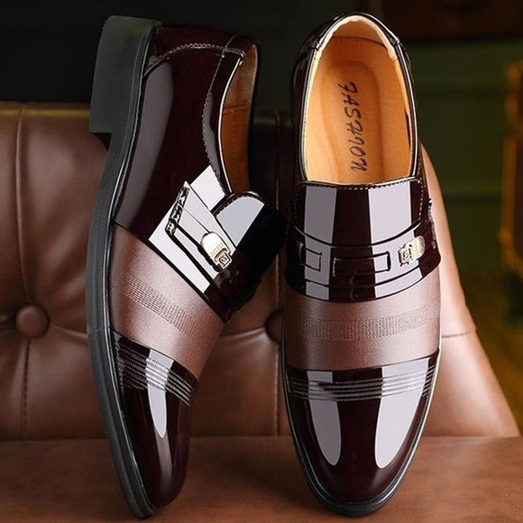 Shoes - Fashion Men's Leather Business Dress Shoes