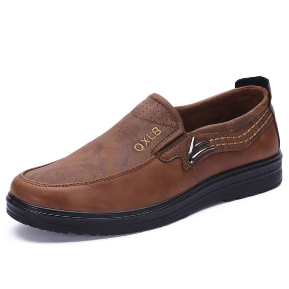 Men's Shoes - High Quality Leather Comfortable Shoes